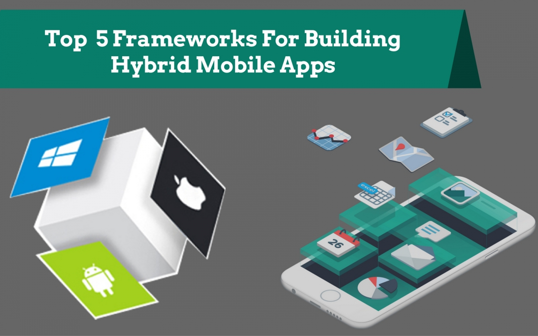 Top  5 Frameworks For Building Hybrid Mobile Applications